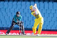 13th March 2020, Sydney Cricket Ground, Sydney, Australia;  Mitch Marsh batting. International One Day Cricket. Australia versus New Zealand Blackcaps, Chappell–Hadlee Trophy, Game 1.