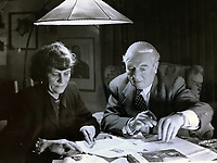 BNPS.co.uk (01202 558833)<br /> Pic Lawrences/BNPS<br /> <br /> Desmond Young with Rommel's widow Lucia after the war.<br /> <br /> Extraordinary tale of Anglo-German post war  friendship emerges...<br /> <br /> The official car standard for legendary German commander Erwin Rommel is being sold by the family of a former British officer who befriended his widow after the war.<br /> <br /> Brig Desmond Young was captured by the Nazis in Libya and while being interrogated, Rommel personally intervened to protect him.<br /> <br /> After the war Mr Young befriended Rommel's widow Lucia and wrote a biography called 'Rommel: The Desert Fox'.<br /> <br /> Mr Young and Frau Rommel struck up a friendship and she presented him with the standard after he gifted her the European rights to his book as an act of kindness due to her penniless state.<br /> <br /> Estimated at £12,000, the historic item will go under the hammer at Lawrence's auction house in Crewkerne, Somerset on November 14th.