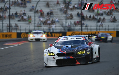 IMSA WeatherTech SportsCar Championship<br /> Sahlen's Six Hours of the Glen<br /> Watkins Glen International, Watkins Glen, NY USA<br /> Sunday 2 July 2017<br /> 25, BMW, BMW M6, GTLM, Bill Auberlen, Alexander Sims<br /> World Copyright: Richard Dole/LAT Images<br /> ref: Digital Image RD_WGI_17_462
