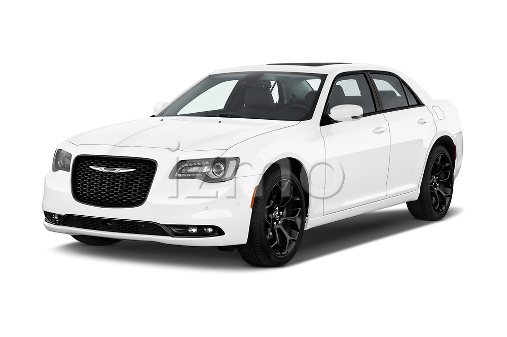 2019 Chrysler 300 S 4 Door Sedan angular front stock photos of front three quarter view