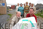 CONCERNS: Angry residents from.Ashleigh Downs include front l-r:.Michael Phelan and Denis Culloty..Back l-r: Bridie Neville, Mary.Whittaker, Ann Kelliher, Brian.Neville, Val Zeidler and Manfred.Zeidler.