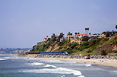 Amtrak Train, San Clemente, Orange County, California, USA