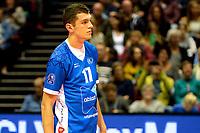 GRONINGEN - Volleybal, Abiant Lycurgus - Luboteni, voorronde Champions League, seizoen 2017-2018, 26-10-2017, Lycurgus speler Niels de Vries