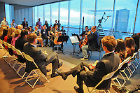 Houston Symphony Young Associates Council at JP Morgan Chase Sky Lobby