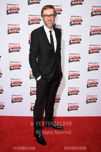 Stephen Merchant arriving for the Empire Awards 2018 at the Roundhouse, Camden, London, UK. <br /> 18 March  2018<br /> Picture: Steve Vas/Featureflash/SilverHub 0208 004 5359 sales@silverhubmedia.com