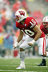 Madison, Wisconsin - 9/13/03. University of Wisconsin linebacker Chris Catalano (10) during the UNLV game at Camp Randall Stadium. UNLV beat Wisconsin 23-5. (Photo by David Stluka)