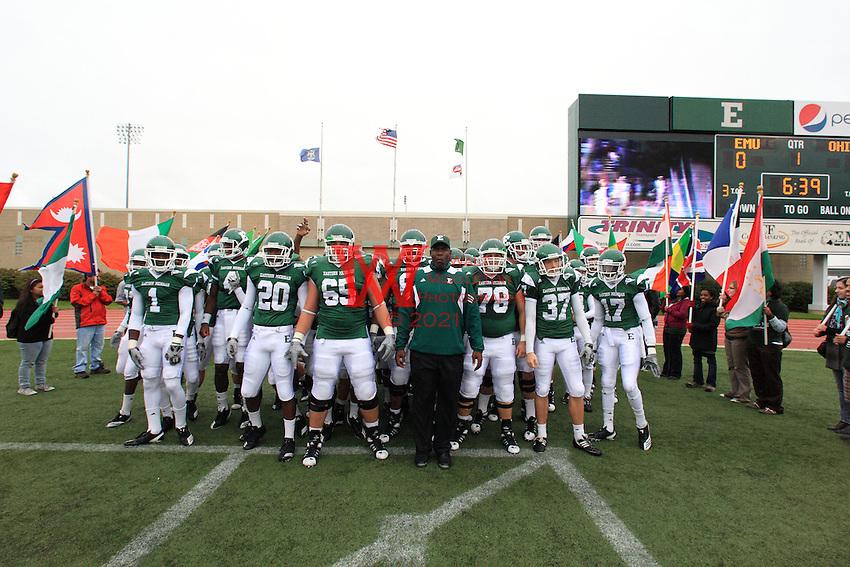 Eastern Michigan University's Homecoming Football Game vs. Ohio University. 2010