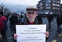 Evropska Unija je mjesto gdje se nadam da ce suzbiti taj kriminal, koji se neprestano dogadza u citavoj Bosni. / The European Union is a place where i hope they will counteract this crime, which is happening non-stop in whole BiH.