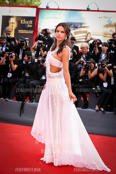 Alessandra Ambrosio  at the Opening Ceremony, premiere of Everest at the 2015 Venice Film Festival.<br /> September 2, 2015  Venice, Italy<br /> Picture: Kristina Afanasyeva / Featureflash