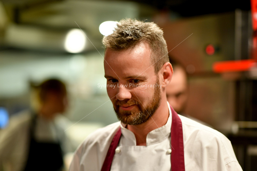 MELBOURNE, 30 June 2017 – Stuart Bell at a dinner celebrating Philippe Mouchel's 25 years in Australia with six chefs who worked with him in the past at Philippe Restaurant in Melbourne, Australia.