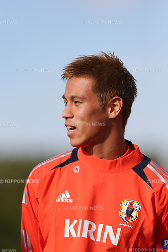 Keisuke Honda (JPN), .OCTOBER 14, 2012 - Football /Soccer : .Japan national team training .at Akademia Wychowania Fizycznego We Wroclawiu, .Wroclaw, Poland. .(Photo by YUTAKA/AFLO SPORT) [1040]