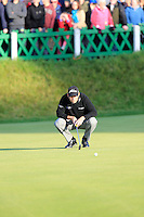 David Howell (ENG) during the final round at the Alfred Dunhill links Championship Old Course, St Andrews, Fife, Scotland.<br /> Picture Fran Caffrey www.golffile.ie