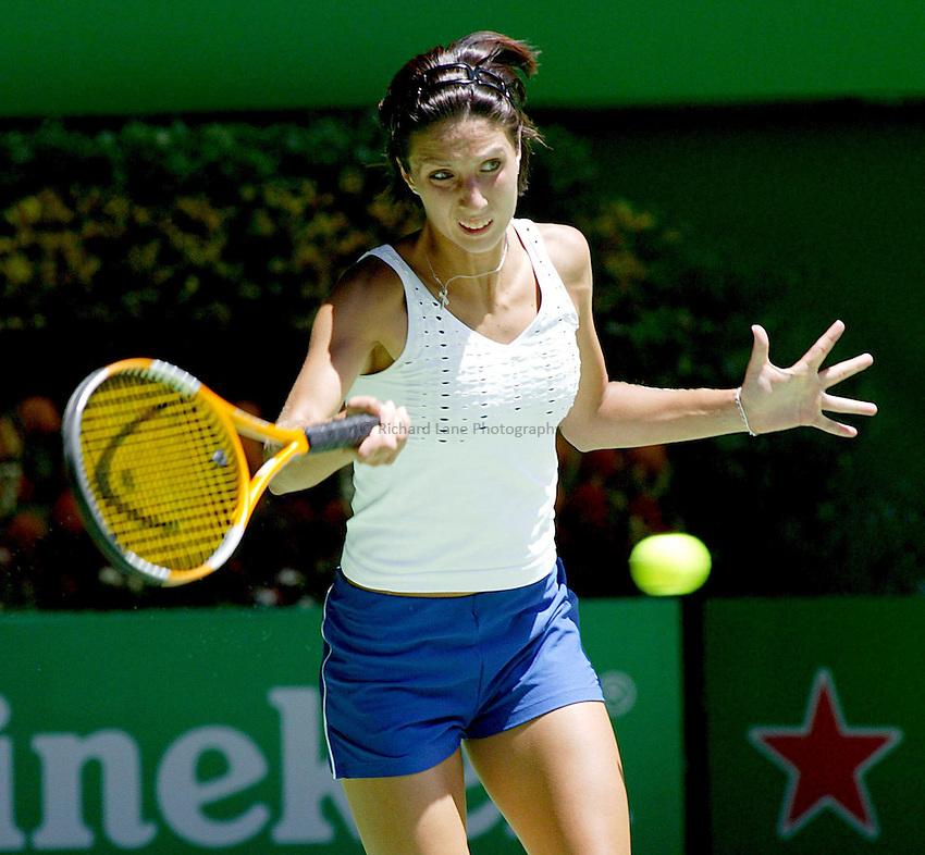 Anastasia Myskina, Australian Tennis Open 2004, Melbourne, Australia