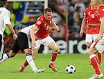 Jacek Krzynowek at Euro 2008. Germany-Poland in Klagenfurt (Austria) 06082008.