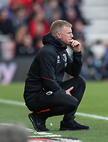 Bournemouth manager Eddie Howe <br /> <br /> Photographer David Horton/CameraSport<br /> <br /> The Premier League - Bournemouth v Manchester United - Saturday 3rd November 2018 - Vitality Stadium - Bournemouth<br /> <br /> World Copyright &copy; 2018 CameraSport. All rights reserved. 43 Linden Ave. Countesthorpe. Leicester. England. LE8 5PG - Tel: +44 (0) 116 277 4147 - admin@camerasport.com - www.camerasport.com