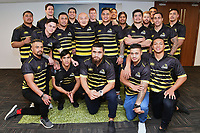The Lions during the Wellington Lions season launch at 89 Courtenay Place in Wellington, New Zealand on Friday, 11 August 2017. Photo: Marty Melville / lintottphoto.co.nz