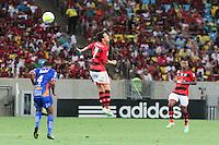 RIO DE JANEIRO, RJ, 25.01.2014 - Elano do Flamengo durante a partida pela terceira rodada do Campeonato Carioca diante do Duque de Caixas no Estádio Maracanã neste sábado. (Foto: Néstor J. Beremblum / Brazil Photo Press)