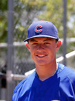 Matt Cerda / AZL Cubs..Photo by:  Bill Mitchell/Four Seam Images