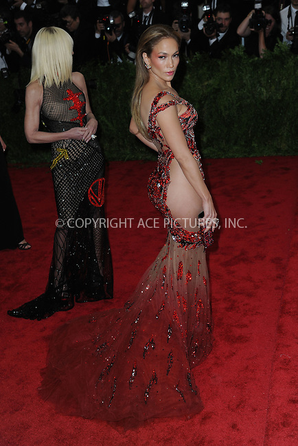 WWW.ACEPIXS.COM<br /> May 4, 2015...New York City<br /> <br /> Jennifer Lopez attending the Costume Institute Benefit Gala  celebrating the opening of China: Through the Looking Glass at The Metropolitan Museum of Art on May 4, 2015 in New York City.<br /> <br /> Please byline: Kristin Callahan<br /> ACEPIXS.COM<br /> Tel# 646 769 0430<br /> e-mail: info@acepixs.com<br /> web: http://www.acepixs.com