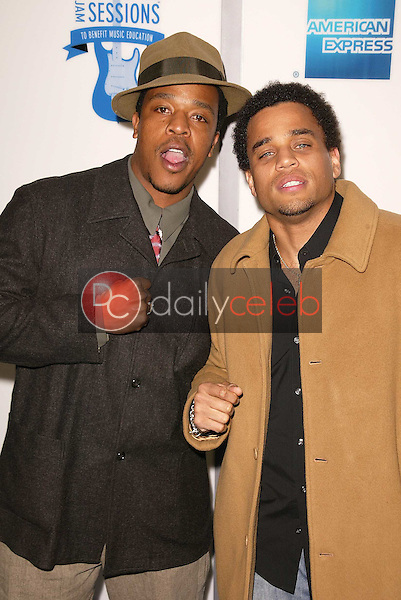 Russell Hornsby and Michael Ealy