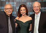 Richard Maltby Jr., Donna Murphy and David Shire attend the Abingdon Theatre Company Gala honoring Donna Murphy on October 22, 2018 at the Edison Ballroom in New York City.