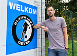 2018-08-28 / Voetbal / Seizoen 2018-2019 / Blauwvoet Oevel / Kevin Geudens<br /> <br /> ,Foto: Mpics