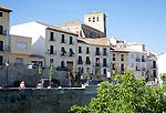 Historic old buildings Alhama de Granada, Andalusia, Spain