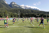 ritiro precampionato Napoli Calcio a  Dimaro 27Luglio 2015<br /> <br /> Preseason summer training of Italy soccer team  SSC Napoli  in Dimaro Italy July 11, 2015