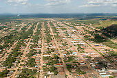 Pará State, Brazil. Aerial view of São Félix do Xingu.