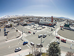 Aerials from the DJI quadcopter drone during Shooting the West XXVII, Winnemucca, Nev.