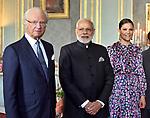 Swedish Royals Receive Indian PM Modi