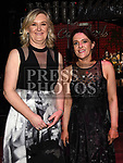 Pauline Byrne and Mairead Duggan at the ABACAS Ball in the Westcourt Hotel. Photo:Colin Bell/pressphotos.ie