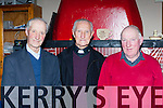Dan Myers Fr Sean Myers and Mick Myers at the Mens Shed rambling house on Monday night