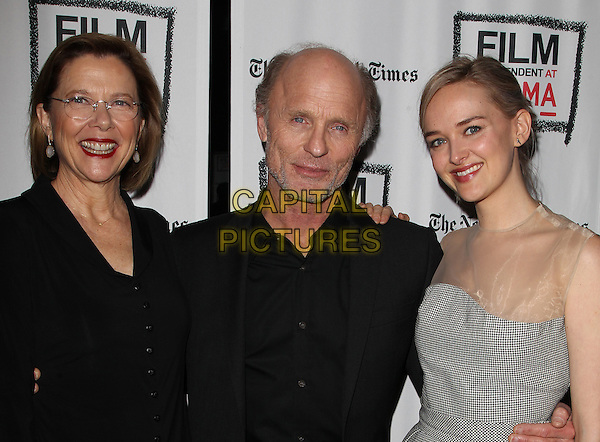 3 March 2014 - Los Angeles, California - Annette Bening, Jess Weixler, Ed Harris. &ldquo;THE FACE OF LOVE&rdquo; Premiere Screening Held at LACMA. <br /> CAP/ADM/FS<br /> &copy;Faye Sadou/AdMedia/Capital Pictures