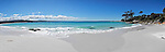 "Panorama of the  ""Bay of Fires"" on the East Coast in the small town of Binalong Bay."
