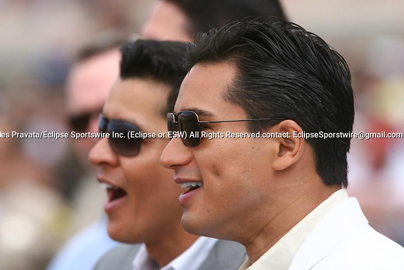 July 24 2010: Actor Mario Lopez at Del Mar Race Track in Del Mar CA.