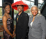 Lauren Anderson, Marsherria Wilson and Annette Cluff at the Ivy Foundation luncheon and fashion show at the Hilton Americas Hotel downtown Saturday March 01,2008.(Dave Rossman/For the Chronicle)
