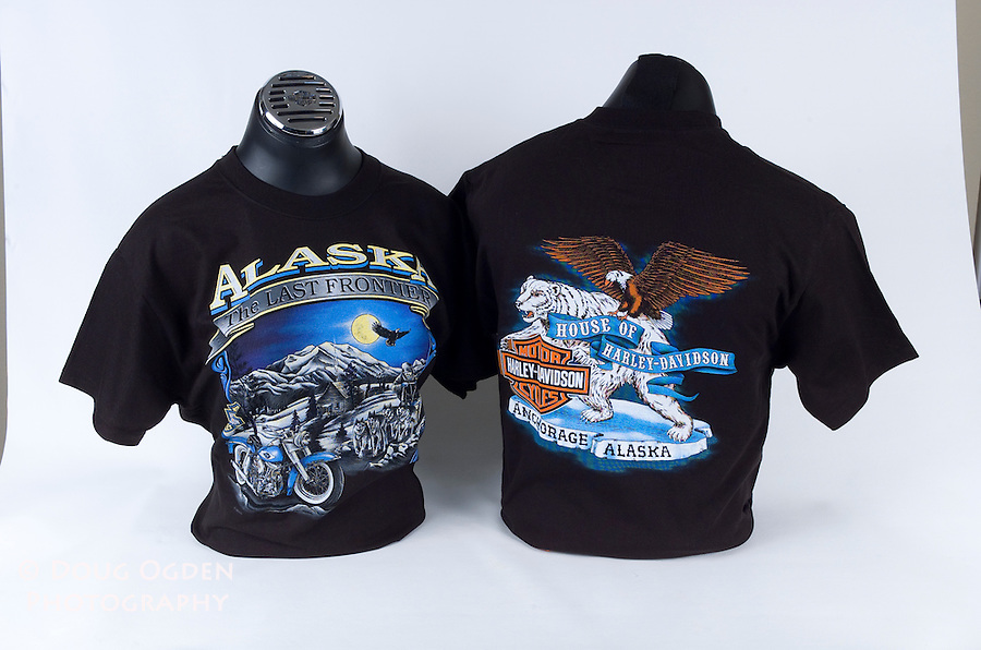Assignment to shoot Anchorage House of  Harley Davidson clothing and accessories
