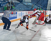 Sudbury, ON - April 24 2018 - Game 4 - Toronto Young Nationals vs Cantonniers de Magog during the 2018 TELUS Cup at the Sudbury Community Arena in Sudbury, Ontario, Canada (Photo: Matthew Murnaghan/Hockey Canada)