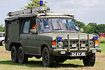 Carmichael Land Rover fire engine conversion. Dunsfold Collection of Land Rovers Open Day 2011, Dunsfold, Surrey, UK. --- No releases available, but releases may not be necessary for certain uses. Automotive trademarks are the property of the trademark holder, authorization may be needed for some uses.