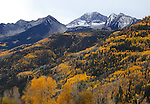 Autumn in the High Peaks of the Rocky Mountains, Gunnison County Colorado; USA