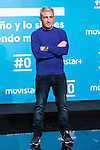 Jon Sistiaga on the first anniversary of broadcast of #0 television network of the Movistar + group in Madrid, Spain. January 30th 2017. (ALTERPHOTOS/Rodrigo Jimenez)