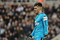 Freddie Woodman of Newcastle United during Newcastle United vs Luton Town, Emirates FA Cup Football at St. James' Park on 6th January 2018