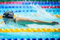 Katie Drabot of USA in act at women's 200m butterfly final during 18th Fina World Championships Gwangju 2019 at Nambu University Municipal Aquatics Centre, Gwangju, on 25  July 2019, Korea.  Photo by : Ike Li / Prezz Images