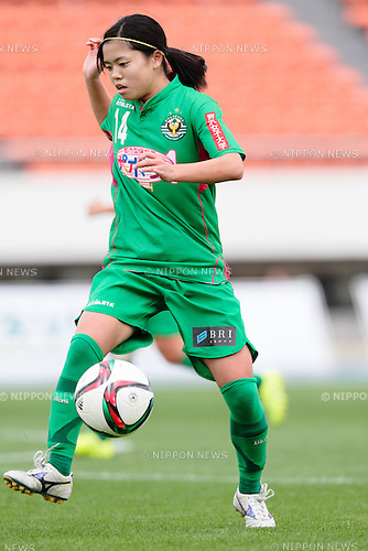 Yui Hasegawa (Beleza), <br /> OCTOBER 31, 2015 - Football / Soccer : <br /> Plenus Nadeshiko League 2015 <br /> between NTV Beleza 2-0 Jef Chiba Ladies <br /> at Komazawa Olympic Park Stadium, Tokyo, Japan. <br /> (Photo by AFLO SPORT)