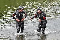 BK PLOEGENTRIATHLON IN DOORNIK :<br /> Ploeg Aarschot Triathlon Team<br /> met  Maarten Vermeulen (L)<br /> PHOTO SPORTPIX.BE / DIRK VUYLSTEKE
