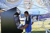 SAN JOSE, CA - AUGUST 03: Pre-game  prior to a Major League Soccer (MLS) match between the San Jose Earthquakes and the Columbus Crew on August 03, 2019 at Avaya Stadium in San Jose, California.