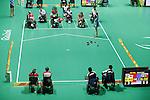 General View,<br /> SEPTEMBER , 2016 - Boccia : <br /> Mixed Team BC1/BC2 Semi-Final<br /> at Carioca Arena 2<br /> during the Rio 2016 Paralympic Games in Rio de Janeiro, Brazil.<br /> (Photo by Shingo Ito/AFLO)