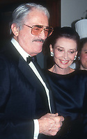 Gregory Peck and Audrey Hepburn 1989<br /> Photo By John Barrett/PHOTOlink