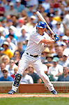 1 July 2005: Todd Hollandsworth of the Chicago Cubs, at bat in a game against the Washington Nationals. The visiting Nationals defeated the Cubs 4-3 at Wrigley Field in Chicago.  Mandatory Photo Credit: Ed Wolfstein